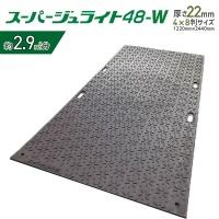 【2枚セット】樹脂製敷板 スーパージュライト 48-W