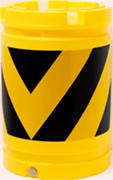 黄反射×黒無反射V型タイプ