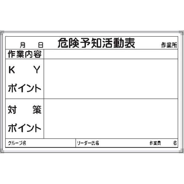 17-危険予知活動表・KYボード