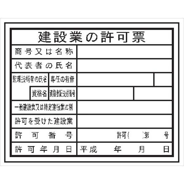 28-法令許可票・建災防統一標識・各種安全標識