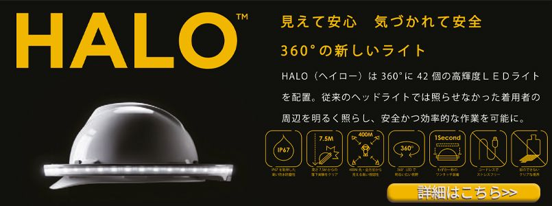 全周型LEDヘッドライト HALO