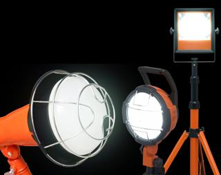 投光器 設置イメージ
